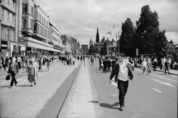 Princes Street, 1st July 1999