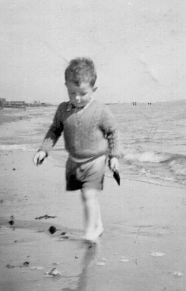 Playing On The Beach 1965