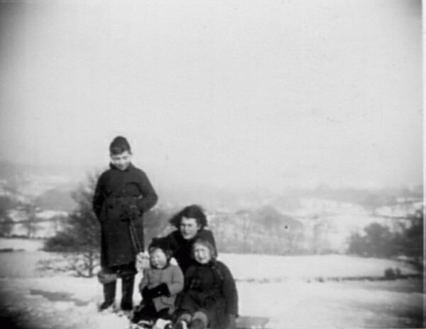 "Winter At ""Bouzell"" 1947"