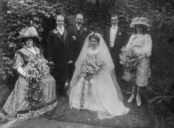 Edwardian Wedding 1908