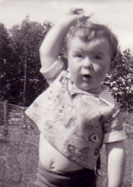 Young Boy At Play 1964