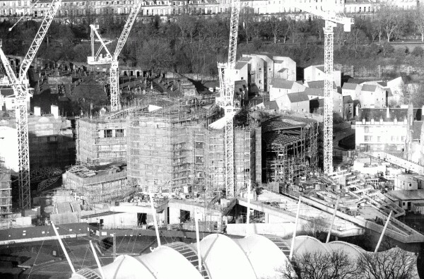 Construction Of New Scottish Parliament Building, 28th Dec 2002