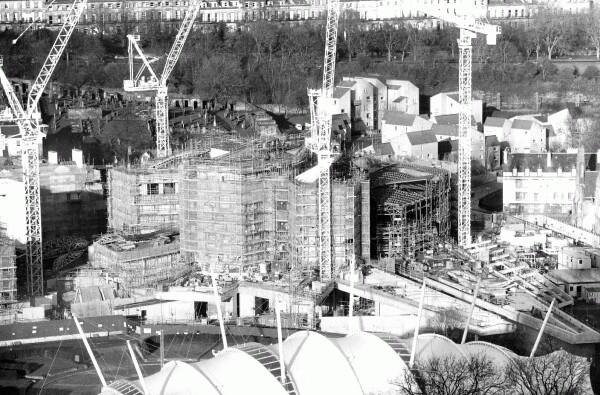 Construction Of New Scottish Parliament Building, 28th Dec 2002