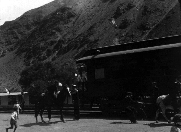 Station In The Andes 1920s