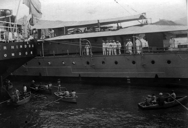 Ship in Harbour 1920s