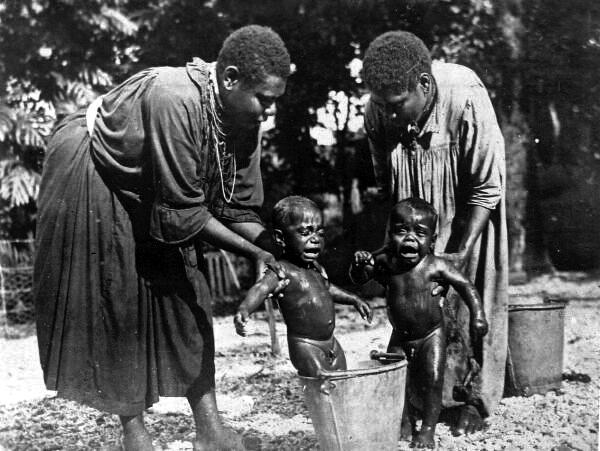 Children's Bath 1920s