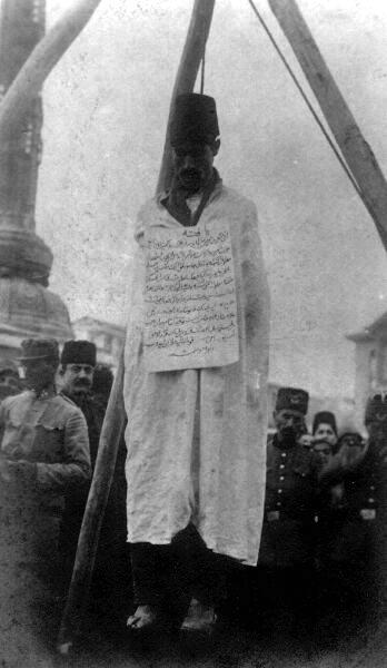 Public Hanging 1920s