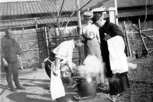 Steaming Pot 1900s