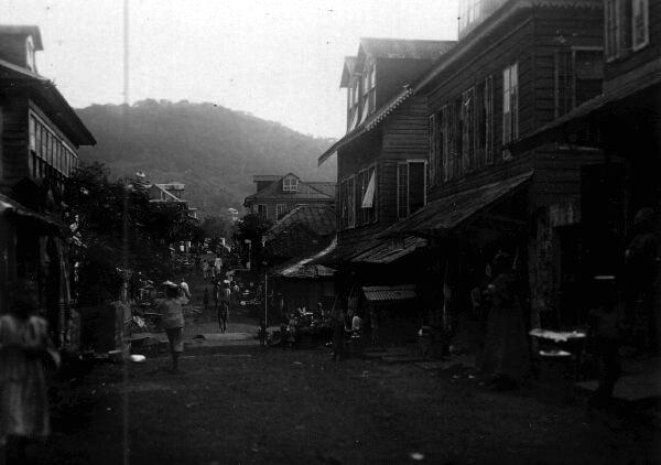 African Street Scene 1920s