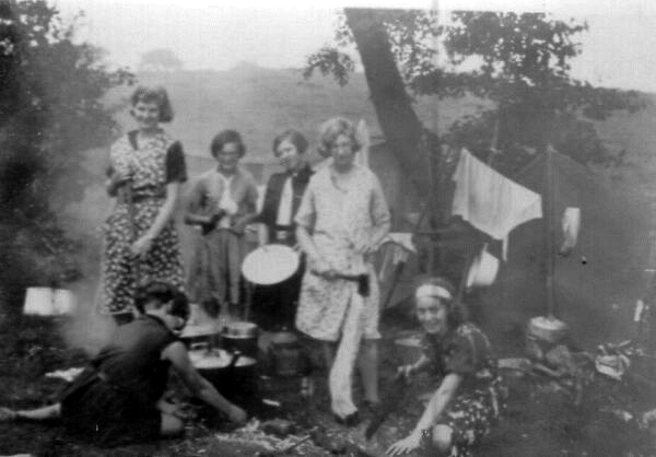 Girl Guide Camp 1932