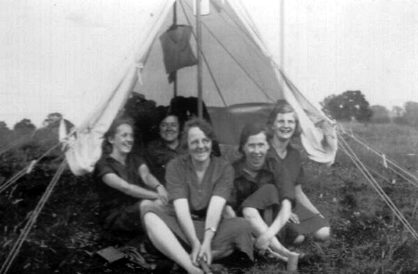 Girl Guide Camping Trip 1930s
