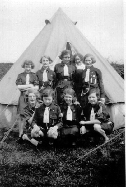Guide Camp 1930s