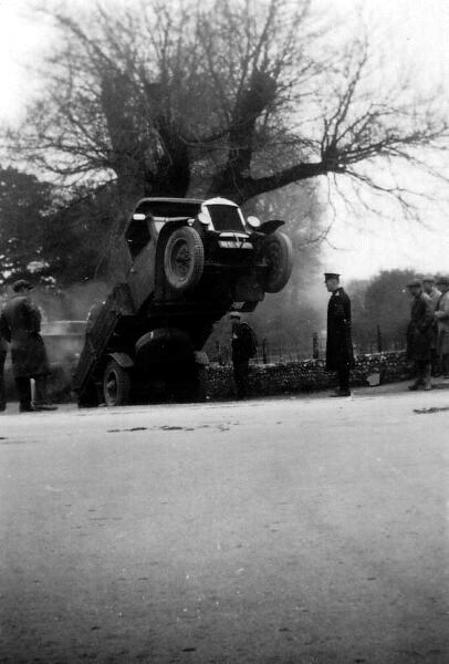 Overloaded Coal Lorry 1920s