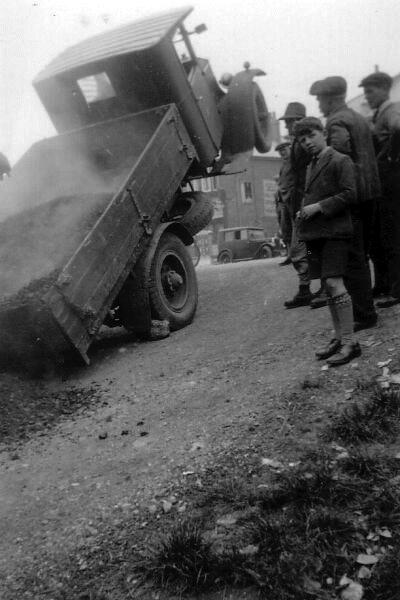 Overloaded Coal Lorry 1920s