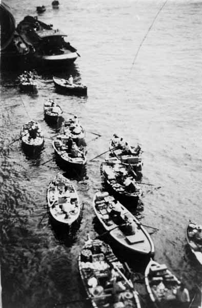 Bum-Boats, June 1954