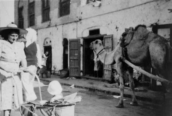Street Scene With Camel, June 1954