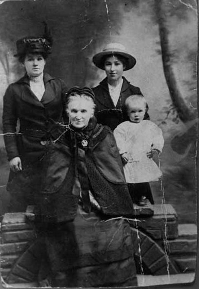 Studio Portrait Four Generations c.1916