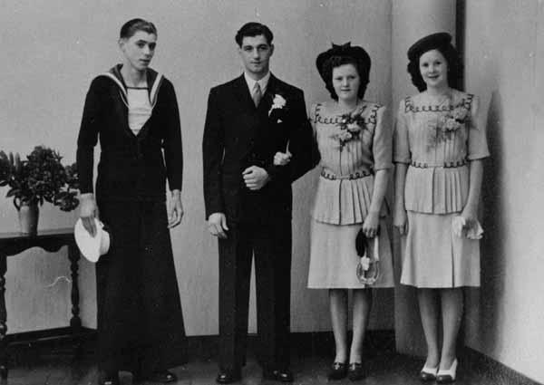 Wedding Party c.1950