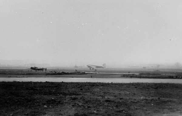 East Fortune Military Air Base Runway c.1950