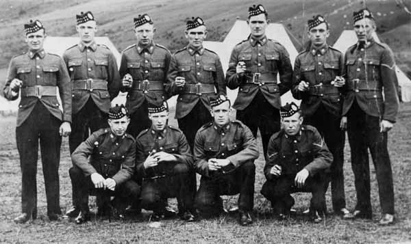 Territorial Army 8th Royal Scots c.1950