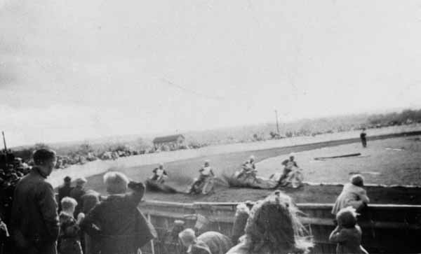 Speedway Racing At Victoria Park, Newtongrange 1950