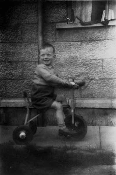 Boy On Tricycle c.1952