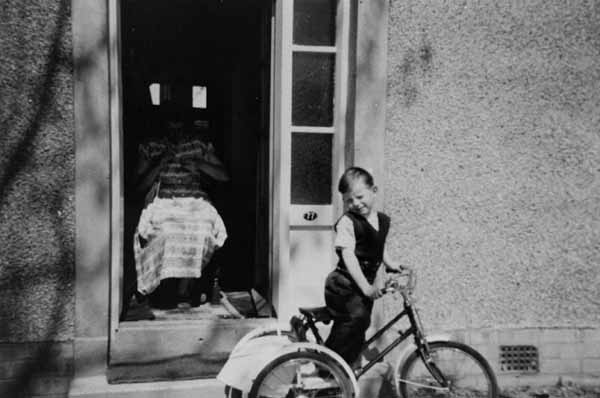 Boy On Tricycle c.1959