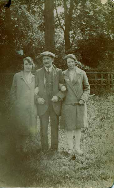Father With Daughters 1924