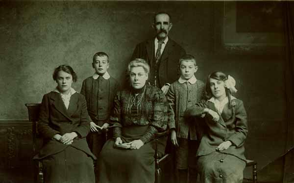 Studio Family Portrait 1918