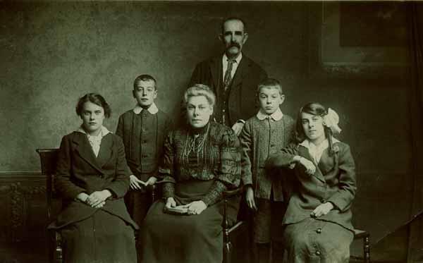 Studio Family Portrait 1918