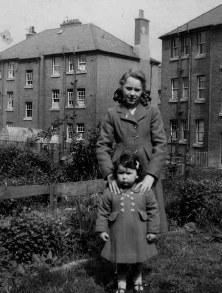 Two Sisters In The Back Green 1949