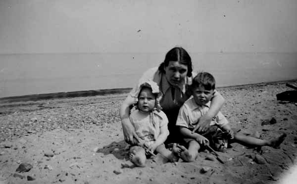 On The Beach At Portobello 1938