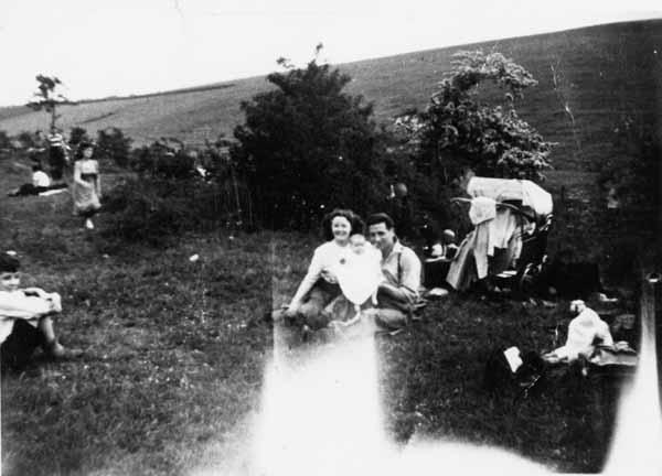 Family Picnic 1940s