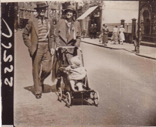 "Family Out For Walk ""Braw Lads Day"" July 1933"
