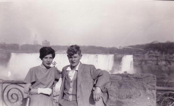 Young Emigrants Niagara Falls, May 1953