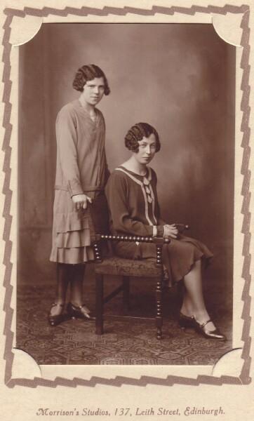 Studio Portrait Two Young Women c.1927