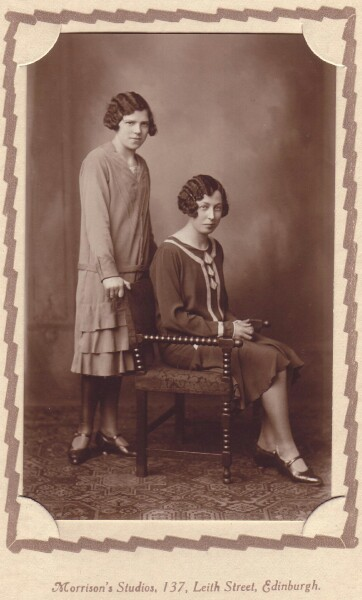 Studio Portrait Two Young Women c.1927