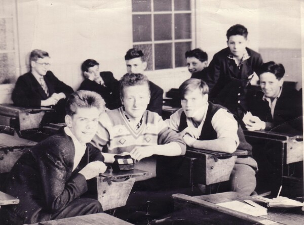 Leith Academy Pupils In Classroom 1961