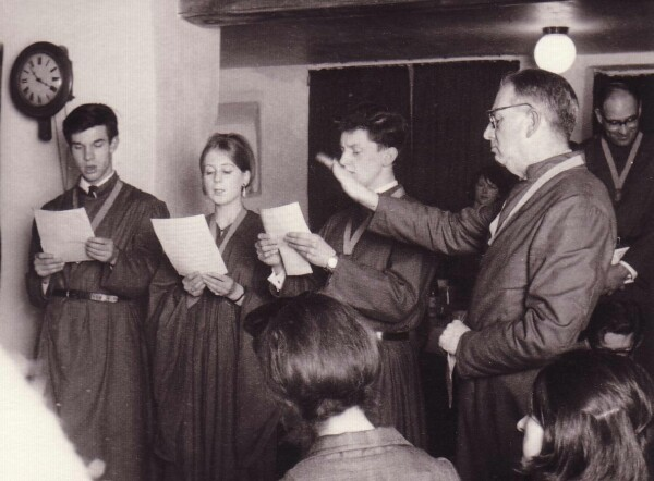 Members Of The 'Sine Nomine Singers' Performing 1965