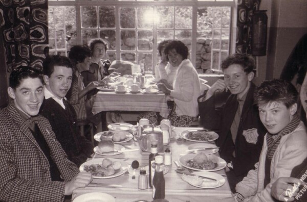 Boys At Butlins Holiday Camp Dining Room, August 1961