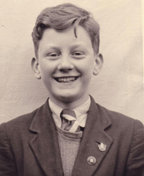 Portrait Pupil Leith Academy 1957