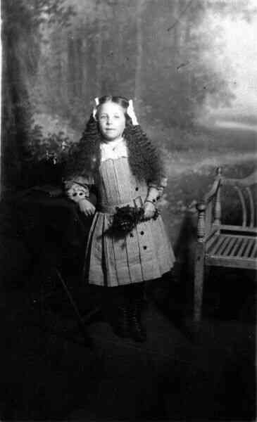 Studio Portrait Young Girl 1912
