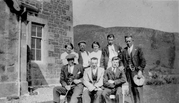 Group Portrait Outdoor c.1930