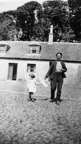 Farmworker And Child c.1935