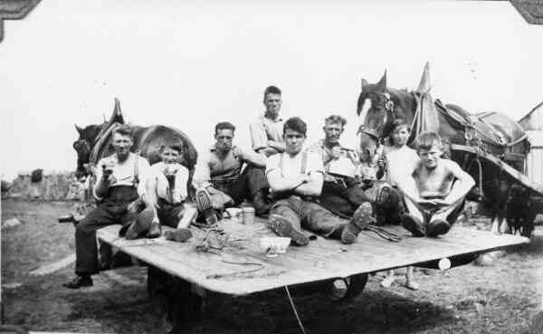 A Break During The Harvest c.1936
