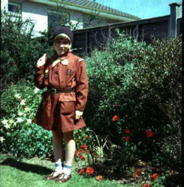 Brownie In Her Back Garden 1973