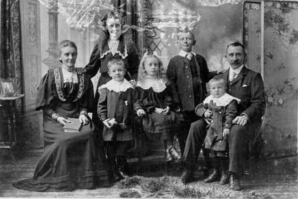 Family Studio Portrait 1900s
