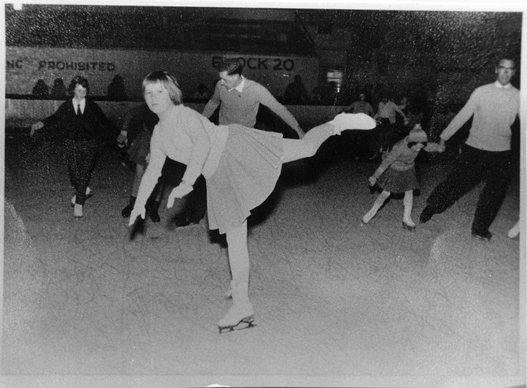 Skating At Murrayfield Ice Rink 1958