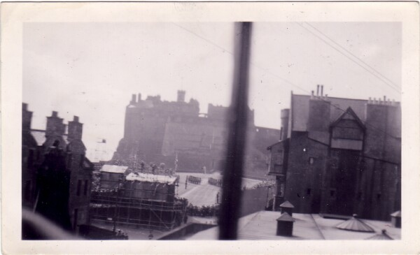 The Castle And Esplanade Seen From The Camera Obscura c.1950