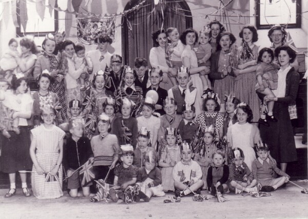 "Coronation Day Celebration At ""The Greens"" In Dumbiedykes 1953"